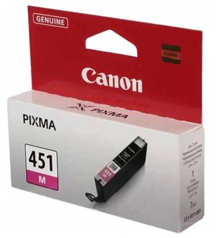 Картридж CANON CLI-451 M пурпурный