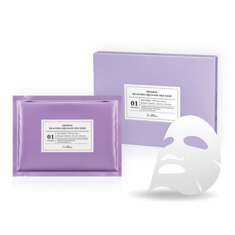 Dr. Althea Premium Squalane Silk Mask Премиальная шелковая маска со скваленом