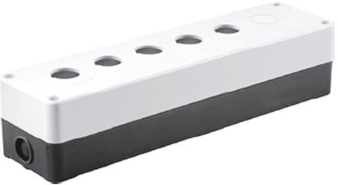 Корпус КП105(6) для кнопок 5(6) мест белый TDM
