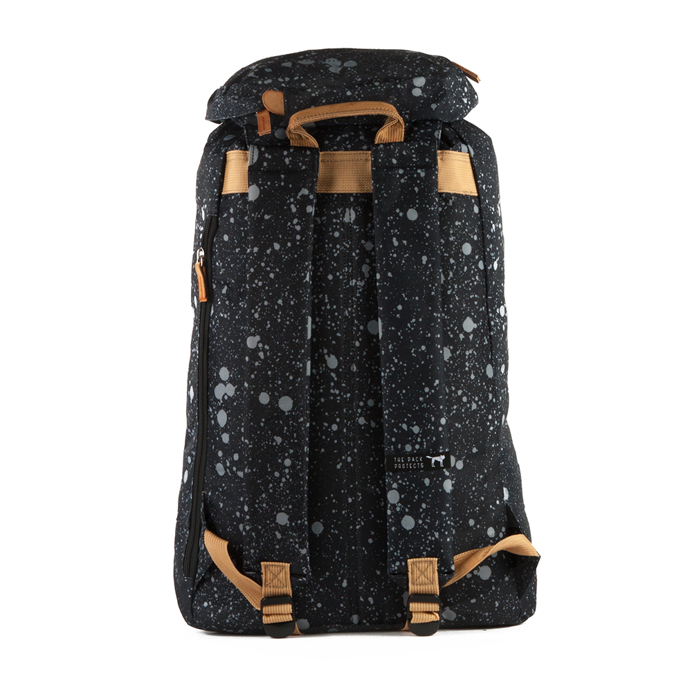 Рюкзак THE PACK SOCIETY Premium Backpack Black Spatters Allover