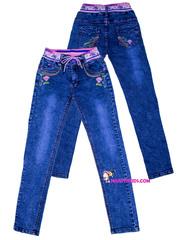 477 джинсы розочка