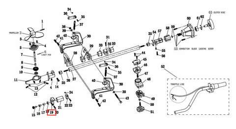 Кольцо  для лодочного мотора T2 SEA-PRO