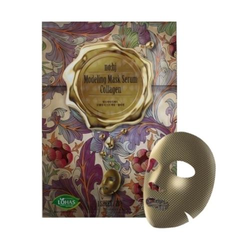 Фольгированная тканевая маска с золотом и коллагеном, 28 г / NO:HJ Modeling Mask Serum Collagen