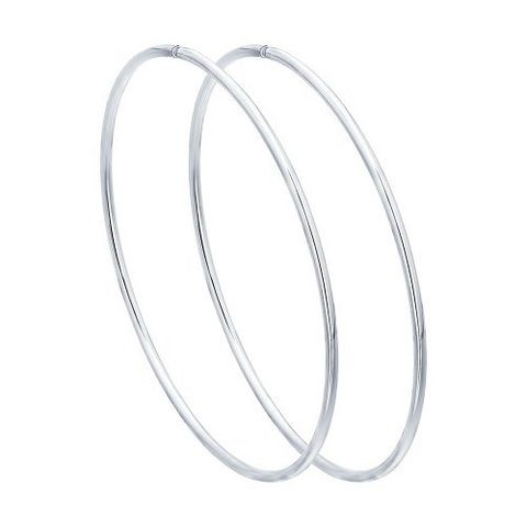 Серьги-конго гладкие из серебра от SOKOLOV арт.94140050