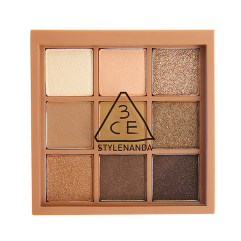 Палетка теней 3CE MOOD RECIPE MULTI EYE COLOR PALETTE #Plot Twist 8g