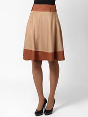 2024-1 юбка бежевая