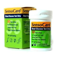 Тест-полоски Сенсокард (Sensocard) № 50