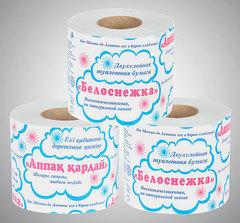 Туалетная бумага «Белоснежка»
