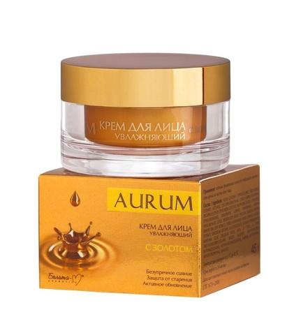 Белита-М Aurum Крем для лица увлажняющий с золотом 45г
