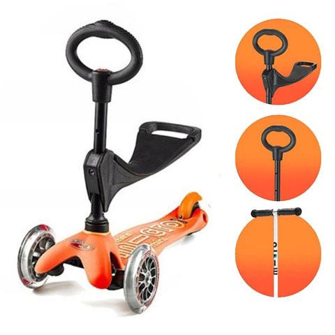 Mini micro 3 in 1 Deluxe оранжевый