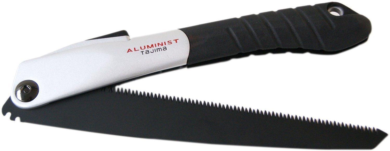 Складная ручная пила 210мм AluministBlack Tajima ALOR-A210FB
