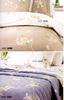 Постельное белье 2 спальное евро макси Mirabello Chorisia сатин бежевое