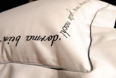 Пододеяльник 200х200 Christian Fischbacher Luxury Nights Sweet Dreams 557 антрацит