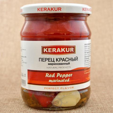 Перец красный маринованный Керакур, 450г