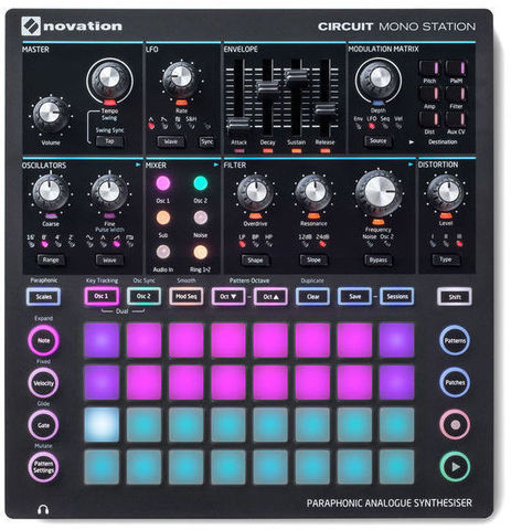 MIDI-контроллер Novation Circuit Mono Station