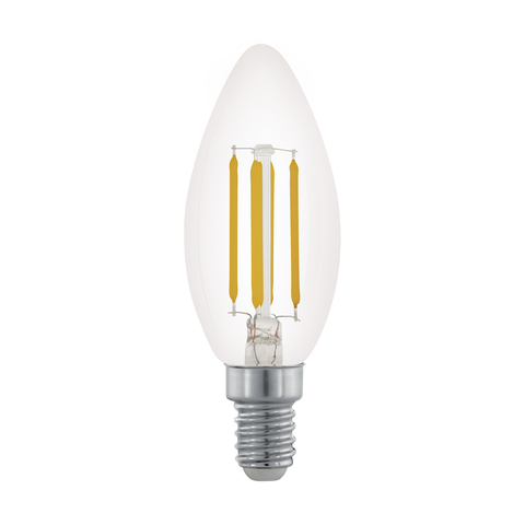 Лампа  Eglo филаментная диммируемая LM LED E14 C35 2700K 11704