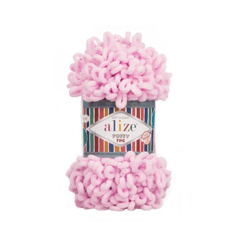 Купить Пряжа Ализе Пуффи Файн Код цвета 194 | Интернет-магазин пряжи «Пряха»