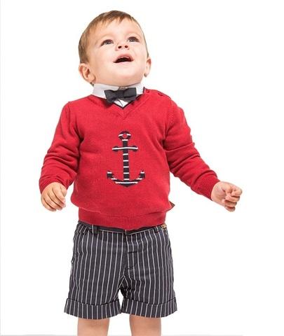 Джемпер Boboli детский Якорь