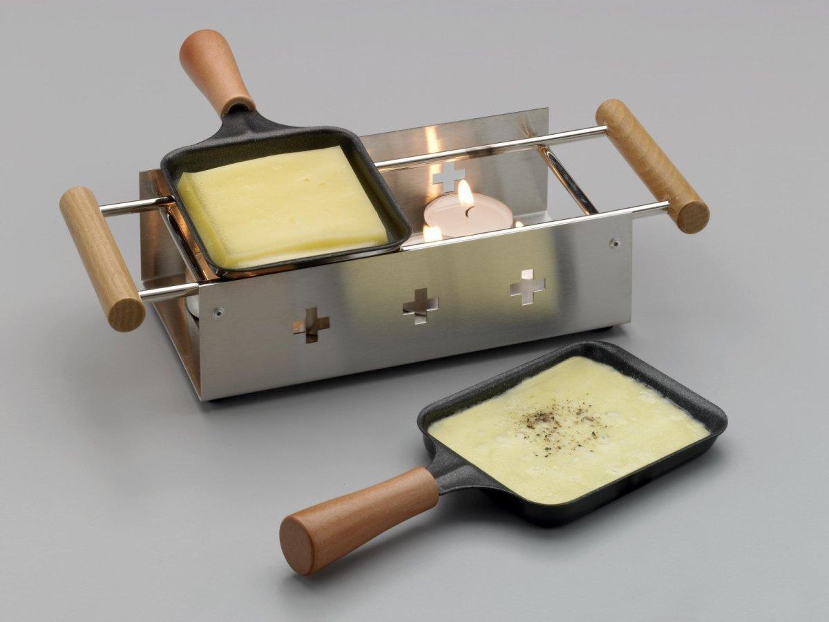 Раклетница свечная TTM Twiny Cheese Inox