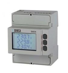 Сетевой анализатор Energy PLUS x CT1 / 5A-RS485 Modbus, 8 МБ лог. гармоники