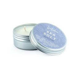 Ароматическая свеча из соевого воска - Морская соль, мини-версия, SmoRodina