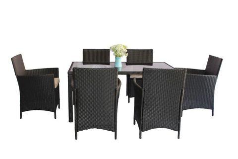 Комплект обеденный HELSINKI: стол + 6 стульев, 2531-L