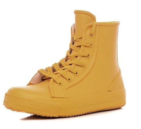 Ботинки резиновые Keddo Желтые