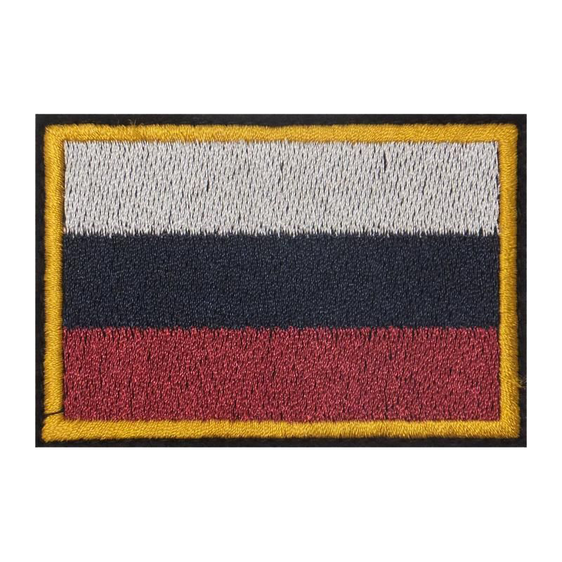 Шеврон флаг России триколор