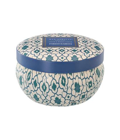 Свеча ароматическая в алюминиевой банке  Ассамский чай и белый кедр, Wax Lyrical