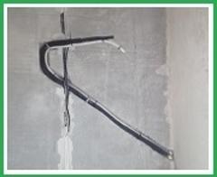 Фото Закладка трассы сплит-системы бетон (предмонтаж) для моделей 07-09