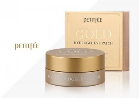 PETITFEE Gold Hydrogel Eye Patch Гидрогелевые пачти с золотом (60 шт)