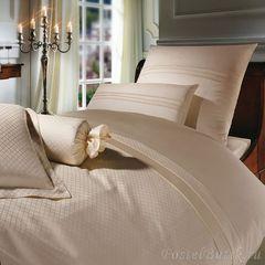 Постельное белье 2 спальное евро Curt Bauer Sanssouci ванильное