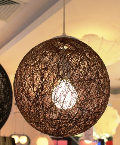 replica  Random pendant lamp (black) D40