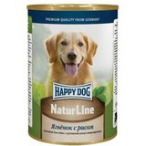 Happy Dog NatureLine Консервы для собак Ягненок с рисом 20x400 г. (71434)