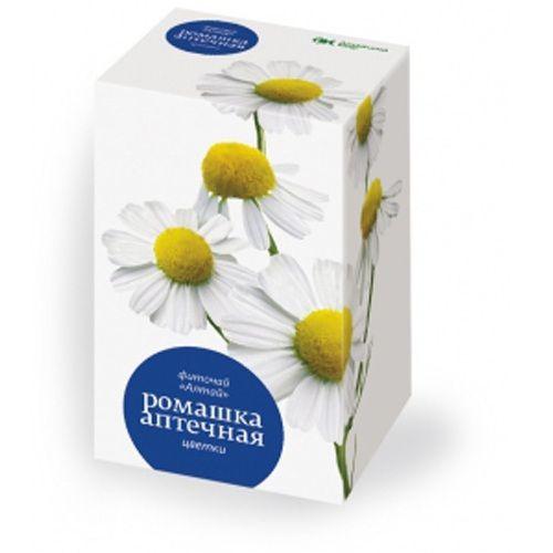 Цветки ромашки в пакетиках 20x1,5 г.