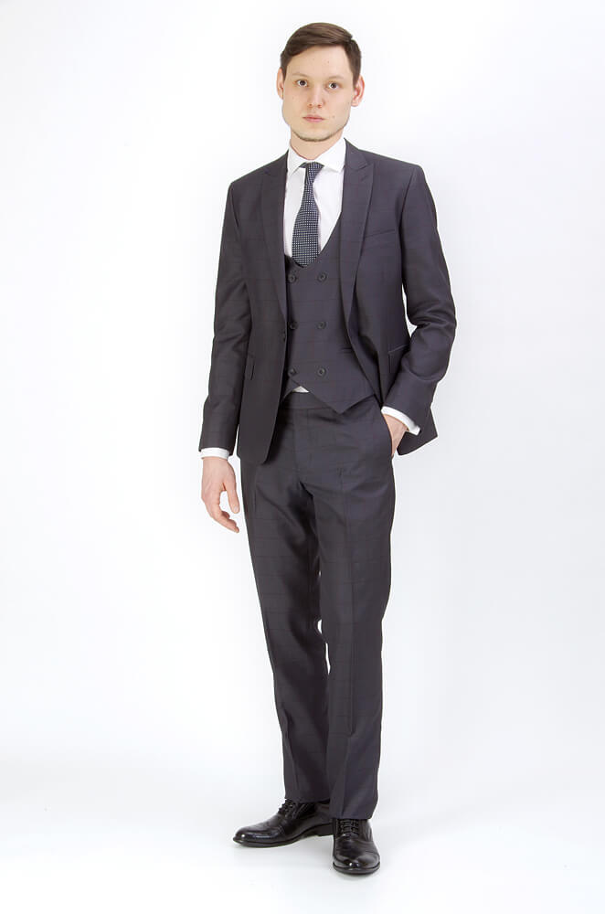 Костюм Slim fit PAUL MANTOVA / Костюм тройка slim fit IMGP9272.jpg