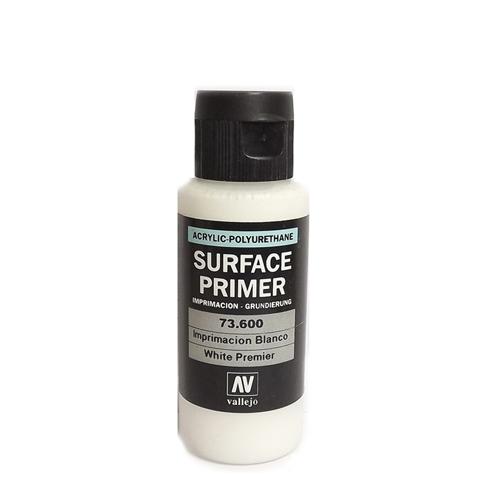 73600 Surface Primer акриловый полиуретановый грунт, белый (White), 60 мл Acrylicos Vallejo