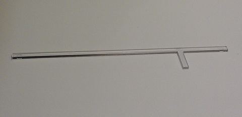 Прозрачная полоска для вентилятора S&P Silent 100 Design