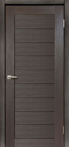 Дверь Дера Мастер 634, цвет венге, глухая