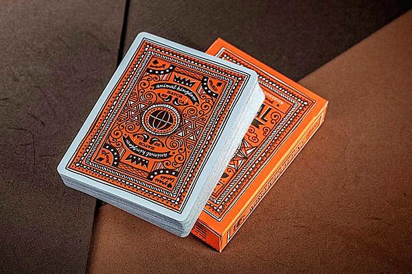 оранжевые карты