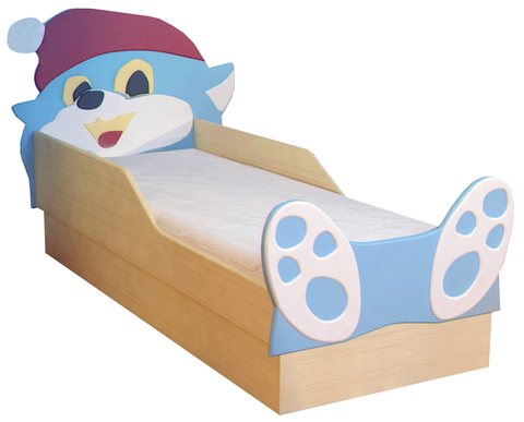 Кровать детская Котенок