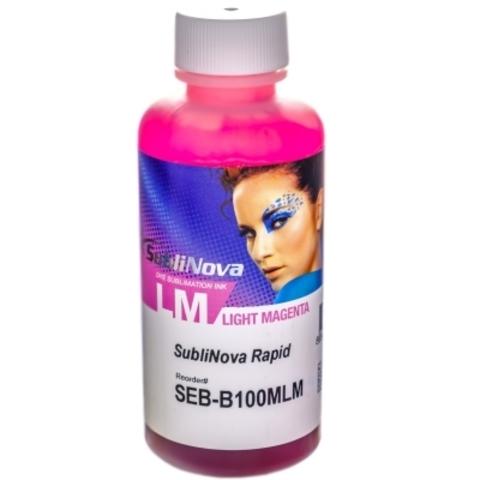 Чернила сублимационные InkTec Rapid SEB-B100MLM light magenta (светло-пурпурные) 100 мл
