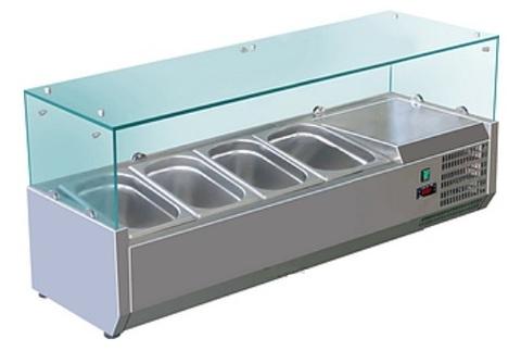 фото 1 Холодильная витрина Koreco VRX1200380(395II) на profcook.ru