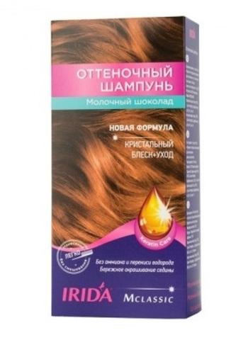 Irida Irida М classic Оттеночный шампунь для окраски волос Молочный шоколад 3*25мл