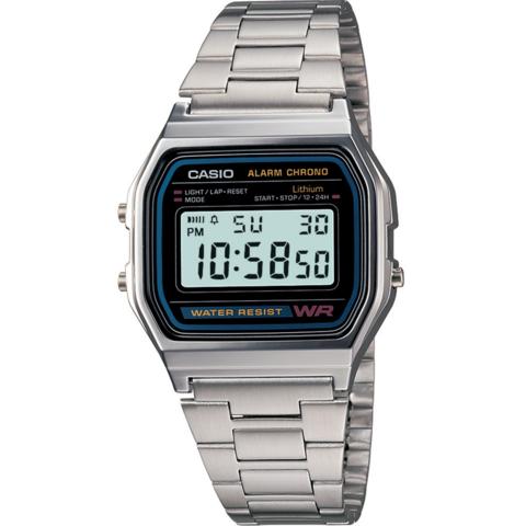 Купить Мужские электронные часы Casio A-158WA-1DF по доступной цене