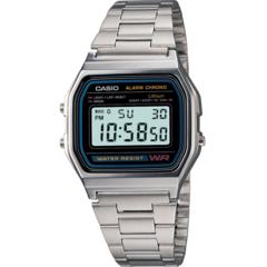 Мужские электронные часы Casio A158WA-1DF