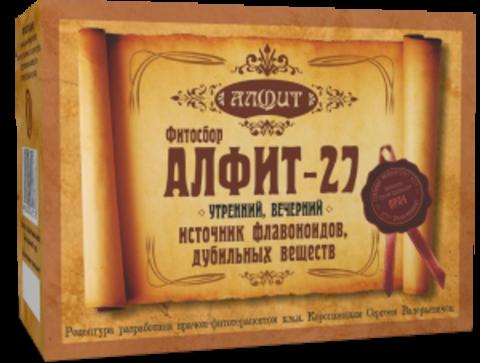 Фитосбор Алфит-27 Для профилактики атеросклероза, 60 ф/п*2г