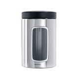 Контейнер для сыпучих продуктов с окном 1,4л, артикул 132803, производитель - Brabantia