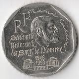 K6176, 1998, Франция, 2 франка 50 лет Декларации прав человека