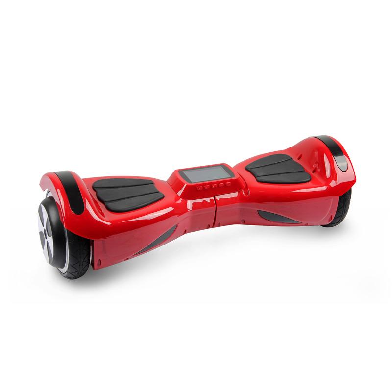 Hoverbot K3 коралловый для детей (Bluetooth-музыка + видео + дисплей + сумка) - Детский гироскутер, артикул: 764492